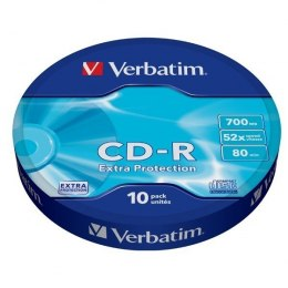 CD-R 52x 700MB 10P SP Extra Protection Wrap 43725
