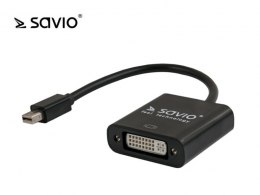 SAVIO CL-94 Adapter mini DisplayPort - DVI 24-pin żeński