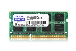 GOODRAM Pamięć SODIMM DDR3 4GB/1333 CL9